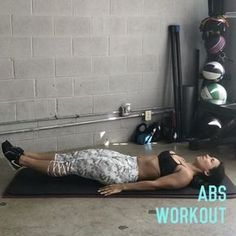 """: """"Abs Workout!This hits mainly lower abs, but get ready to feel the all thru your core.You can…"""""""