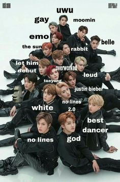 ❗️THESE AREN'T MY MEMES❗️ Welcome to this crackhead fandom called Nct-zen;) Here are some good memes u can find and crack a small laugh. Nct 127, Nct Taeyong, K Pop, Got7, Infinite Members, Exo, Nct Group, Nct Life, Drama Memes