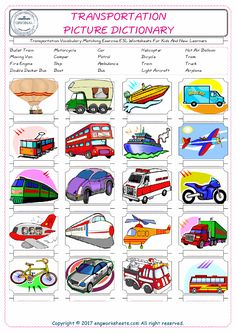means of transportation missing letters in words exercises ch transport language arts. Black Bedroom Furniture Sets. Home Design Ideas