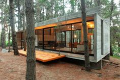 The Best Modern Tiny House Design Small Homes Inspirations No 113 Modern House Design design Homes House Inspirations Modern small Tiny Modern Tiny House, Tiny House Design, Modern House Design, Design Homes, Contemporary Design, Sustainable Architecture, Architecture Design, Building Architecture, Concrete Architecture