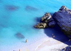 beach in Costa del Sol , Spain
