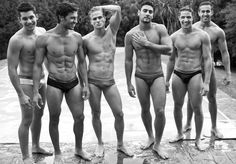 Lukas, Maikel, Diogo,Samyr, Renan and Diego 31