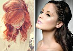 I like the redhead's braid