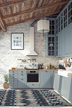 Delft, Washable Rugs, Cuisines Design, Ikat, Sweet Home, House Design, Decoration, Interior Design, Furniture