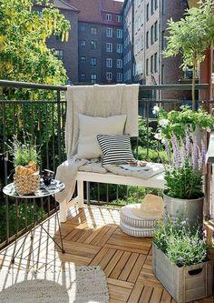 10X inspiratie om een knusse mini tuin of balkon te creëren | Fashionlab