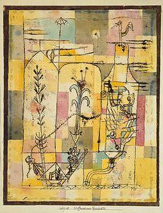 Tale à la Hoffmann by Paul Klee 1921 - パウル・クレー - Wikipedia