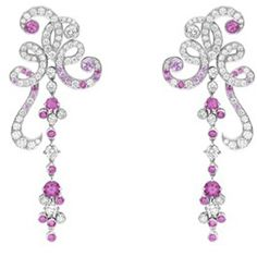 Van Cleef & Arpels Oiseaux de Paradis cherished bird earrings