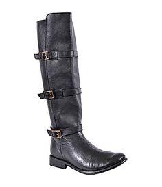 Bed Stu Cobbler Kitty Riding Boots #Dillards