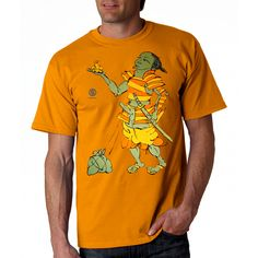Samurai on vacation. *** T-shirt with the author's pictures of Vladimir Shvayukov. For adult boys and girls. Boys, Girls, Samurai, Boy Or Girl, Digital Prints, Vacation, Drawing, Stylish, Illustration