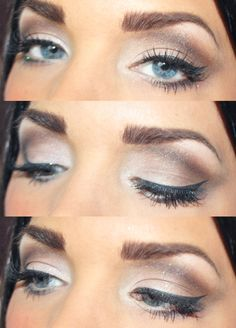 Love the light glitter and simple lids