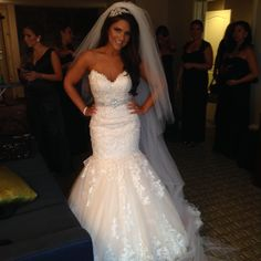 """Maggie Sottero """"Marianne"""" with sewn in belt"""