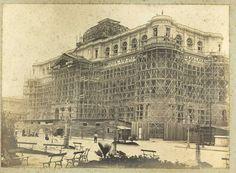 Construção da Biblioteca Nacional  Álbum da construção da Biblioteca Nacional na Avenida Rio Branco - 1909 Fundação Biblioteca Nacional