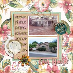 https://flic.kr/p/vsrgV2 | Corbin_My-House | Little Butterfly Wings Our Legacy Forever Joy Offline Amy Wolff WolfPack July Paper Pack Amy Martin Blancstitches2 Simple Scrapper Template