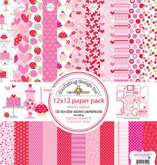 Doodlebug Design - Sweet Cakes Collection - 12 x 12 Paper Pack, $15.99