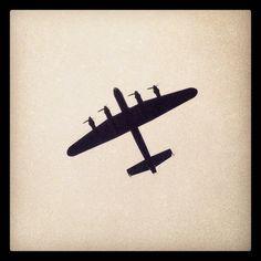 Lancaster Bomber.