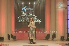 The president of HUM TV NETWORK Ms. Sultana Siddiqui giving her inspiring speech! #TBCW2014
