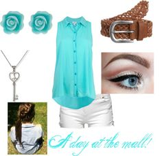 """""""A day at the mall."""" by jazzierae on Polyvore"""