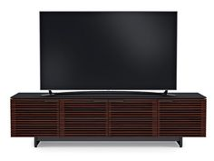 TV Media Console Cabinet Chocolate Stained Walnut 8173 Corridor BDI Outlet Discount Furniture Selections Home Entertainment LIVING ROOM Discount Furniture at Reflections Home Furnishings, Hickory, NC