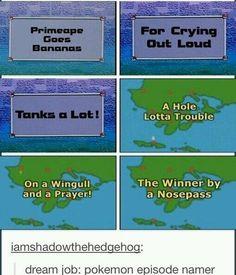 The Pokémon Anime Loves Wordplay and Puns