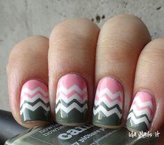piCture pOlish Blog/Insta Fest 2014 - Camo & Fairy Floss + Chevron NailVinyls = nails by Ida Nails It!  Shop on-line: www.picturepolish.com.au