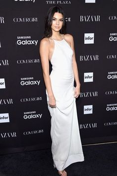 Kendall Jenner Harper's Bazaar Icons Event NYC  New York Fashion Week