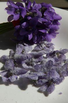 Violettes - Macarons et autres plaisirs ...