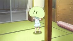 "Chibi + pillow = Kawaii (GIF) Clannad ""cries* clannad is so good"