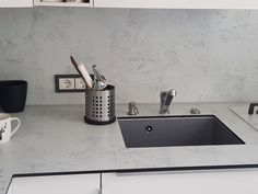 Compact hpl worktop with covered sink