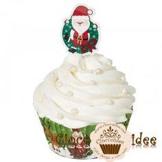 Cupcake babbo natale