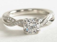This engagement ring is well worth the money. It is ideal for women who are classy yet simple and love the finer things in life without being too flashy. Best Engagement Rings, Beautiful Engagement Rings, Girls Best Friend, Dream Wedding, Wedding Rings, Classy, Jewelry, Money, Weddings