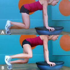 Core Exercises You're Not Doing - Core Exercises: Training with TRX and BOSU Ball - Shape Magazine