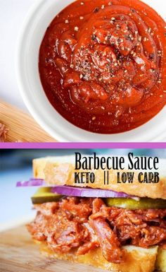 You can't beat this homemade, low carb, sugar free BBQ sauce!