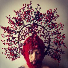 #fashion #agnieszkaosipa #headpiece kalina