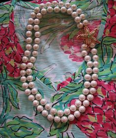 vintage pearls and ocean made curls: Lilly