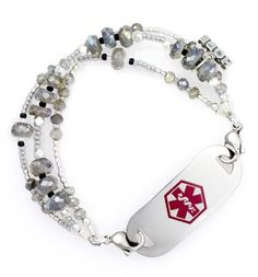 Shop the best selection of fashionable medical ID bracelets & medical alert jewelry for men, women & kids. Gastric Bypass Surgery, Bariatric Surgery, Make Your Own Jewelry, Jewelry Making, Gifts For Diabetics, Medical Id Bracelets, Things To Know, So Little Time, Fashion Bracelets