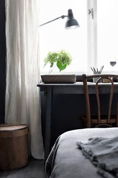 Take a peak into the Stockholm based apartment styled by renown Swedish stylist and author Hans Blomquist and see how effective styling for sale can be.