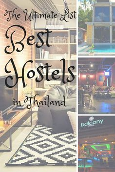 Best Hostels in Thailand …
