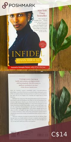 Book 📚 Infidel by Ayaan Hirsi Ali Biography non-fiction women's rights female FGM Book Other Yahtzee Game, City Of Ashes, Book City, Farm Games, Malala Yousafzai, Sailor Moon Manga, Margaret Atwood, Reading Groups, Cassandra Clare