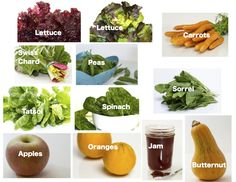 Regular Size: lettuce, carrots, Swiss chard, sugar snap peas, tatsoi, spinach, sorrel, apples, oranges, strawberry jam (made from organic farm berries by Jacki
