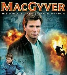 """One of my all-time favorites: MacGyver! I love the unique ways he solved problems. In fact, I actually created a Keynote Speech called """"Life Lessons We Can Learn From MacGyver! Macgyver Tv Series, 80s Tv Series, Film Serie, Angus Macgyver, 1980s Tv Shows, Tv Sendungen, Tv Retro, Mejores Series Tv, Vintage Tv"""