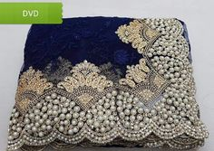 Online Ethnic wear shopping for Indian women. Shopping of sarees, salwar suits & Lehengas. Hand Work Embroidery, Embroidery Saree, Beaded Embroidery, Embroidery Designs, Bollywood Party, Bollywood Wedding, Indian Bollywood, Bridal Sari, Pakistani Bridal