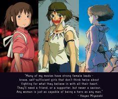 Ghibli feminism
