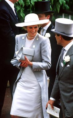 Princess+Diana+Royal+Ascot+Hats | at an ascot race meeting june 1987 source getty editorial