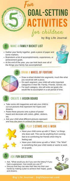 5 Fun Goal-Setting Activities for children