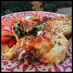 """Dinner Was A Success  Low Carb """"Lasagna"""" Salad & Garlic Parmesan Toast.  #LowCarb#LC#LCHF#Atkins#Paleo#GlutenFree#Keto#Ketogenic#KetoFriendly#Dairy#Cheese#Protein#Diet#Weightloss#iifym#FitFood#FitFam#FoodPorn#Cook#Cooking#Food#HealthyFood#LowCarbDiet#Fit#Fitness#Health#Healthy#Organic#Yummy#SugarFree by jujubeeslowcarbbuzz"""