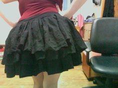 Bustle Skirt #howto #tutorial