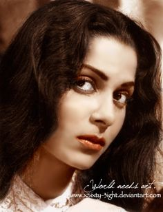 A classical Indian Beauty by xSixty-3ight Young Hindi actress Waheeda Rehman.