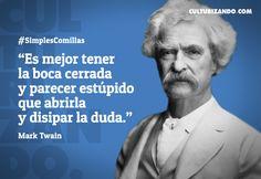 Lo mejor de Mark Twain (+Frases) - culturizando.com | Alimenta tu Mente