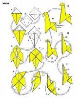 "origami giraffe - if this pin is blocked, type ""origami ... - photo#12"