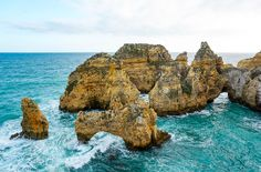 Visit Portugal's Algarve Coast for the most beautiful beaches and some of the most secluded. There's plenty to do in the Algarve and accommodation and holidays are cheap!